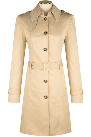 Dune Cotton Trench Coat