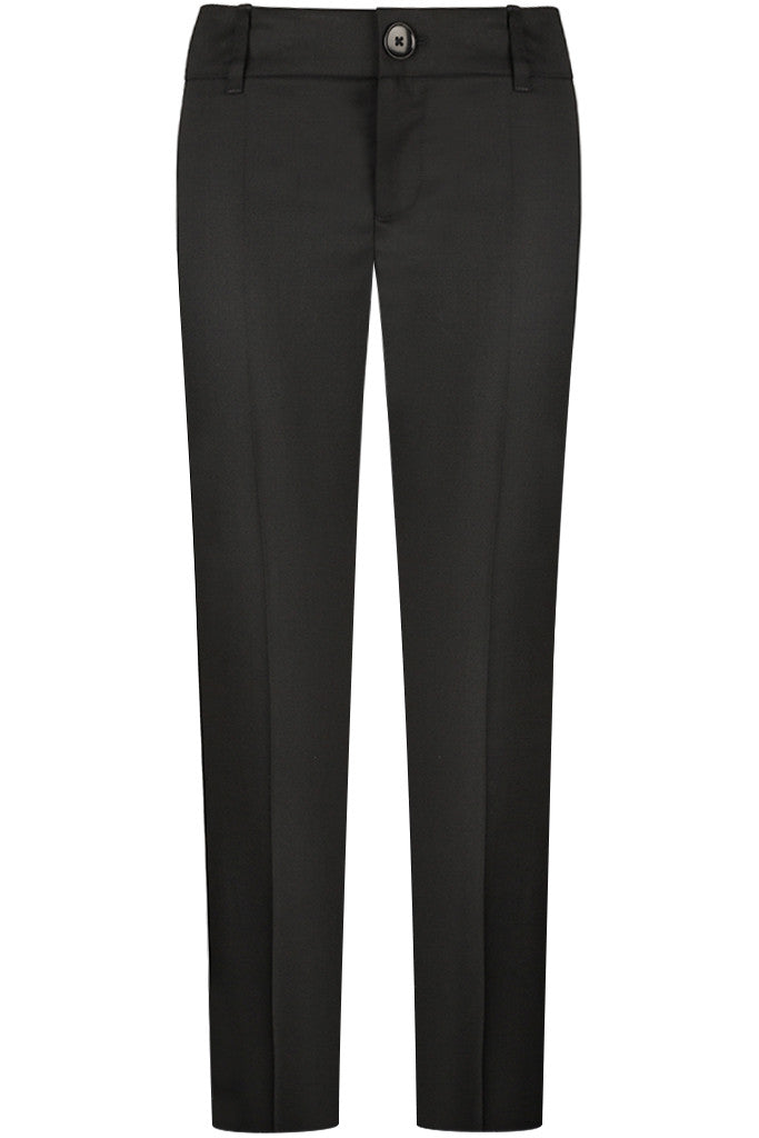 Black Twill Pants