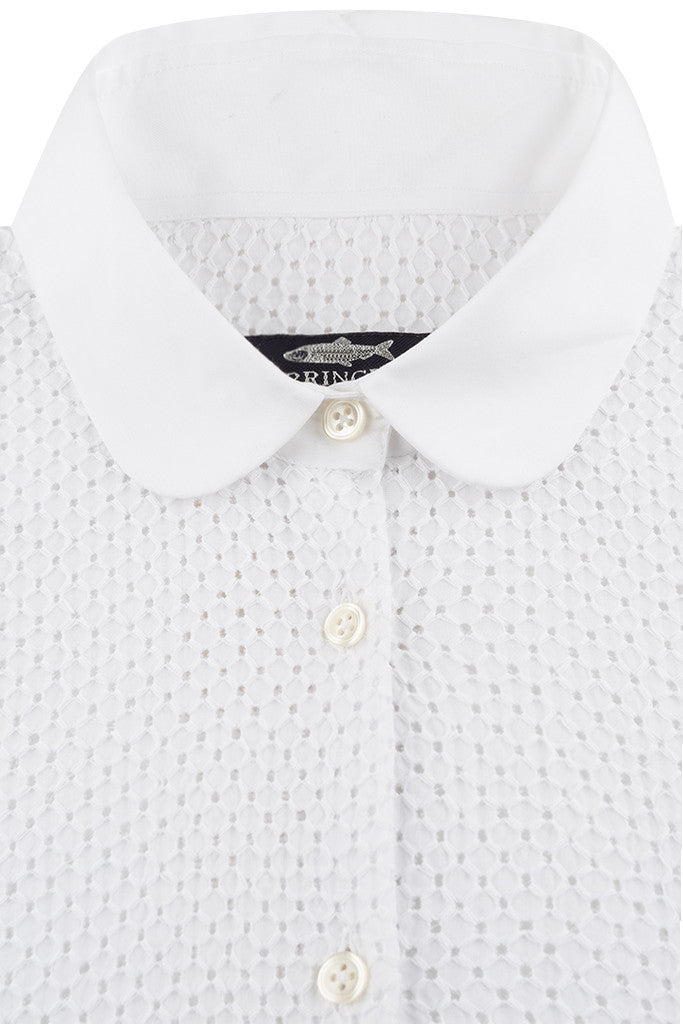 White Textured Cotton
