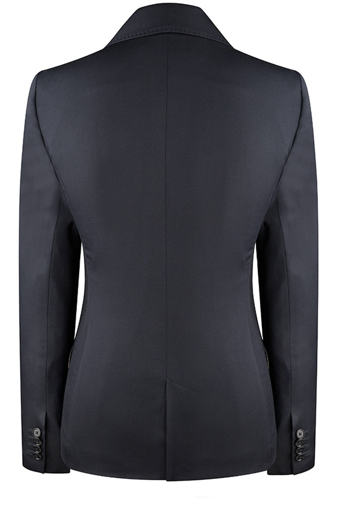 Loro Piana - Navy Wool Twill Jacket