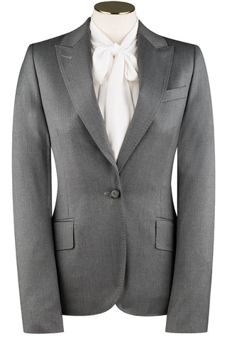 Loro Piana - Mid Grey Twill Jacket