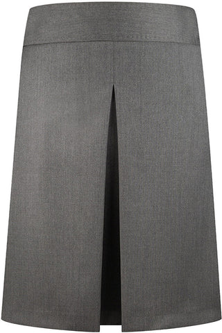 Loro Piana - Mid Grey Twill Skirt