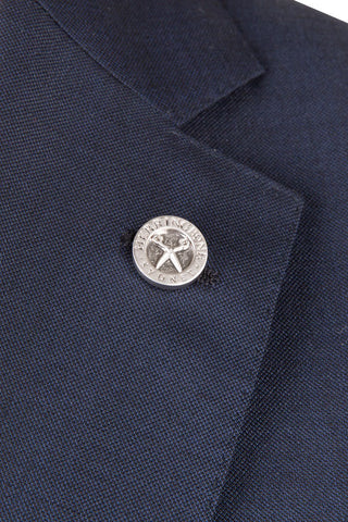 Herringbone Emblem Lapel Pin