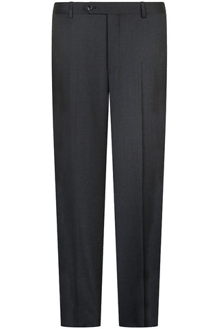 Dark Charcoal Twill Trousers