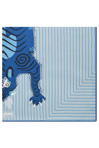 Mariner Tiger Pocket Square