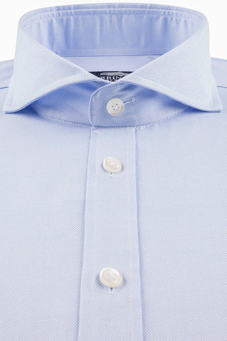 Royal Blue Oxford with Full Cut-Away Collar