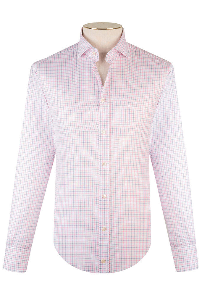 Pink Tattersall Check