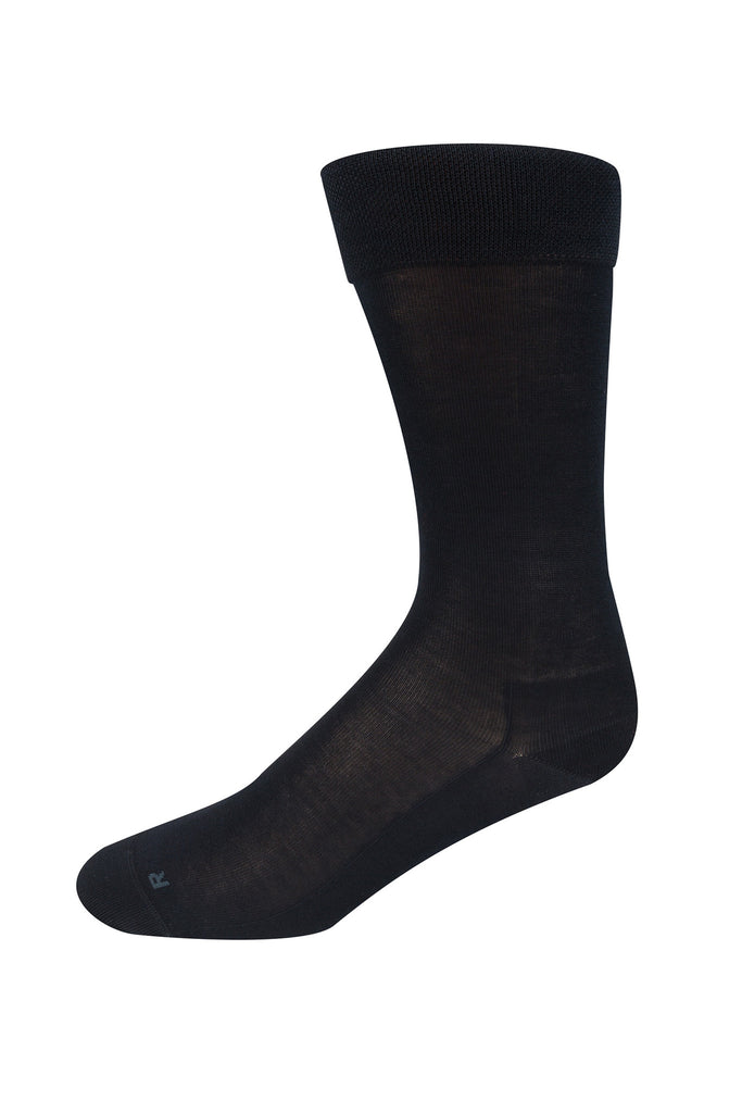 Falke Black Airport Sock