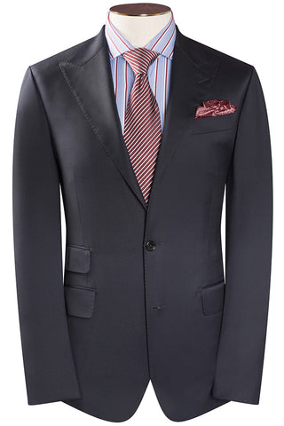 Loro Piana - Navy Luxury Twill Suit