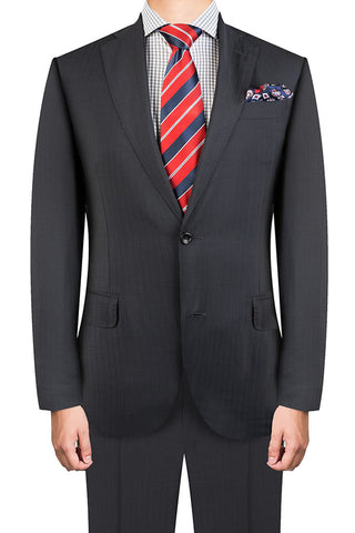 Navy Subtle Stripe Suit