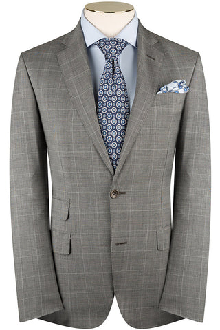 Steel Prince of Wales Suit