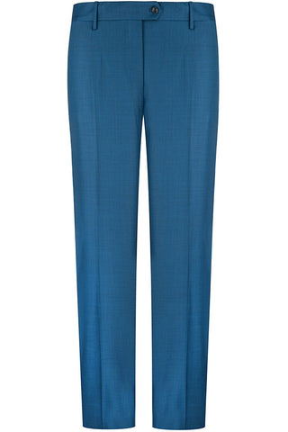 Mariner Blue Sharkskin Trousers