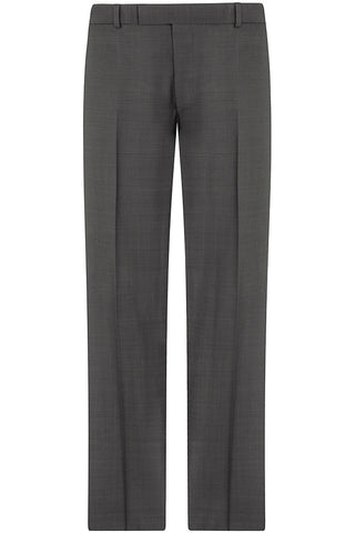 Mid Grey End on End Trousers