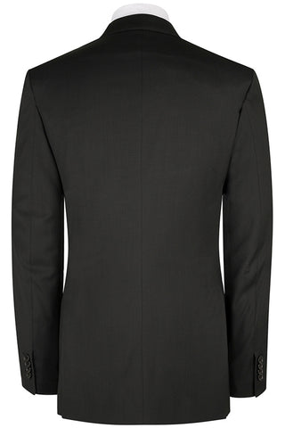 Black Modern Twill Jacket