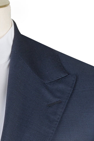 Royal Blue Box Weave Suit
