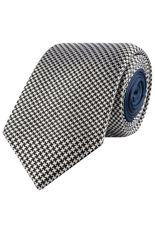 Steel and Ink Houndstooth