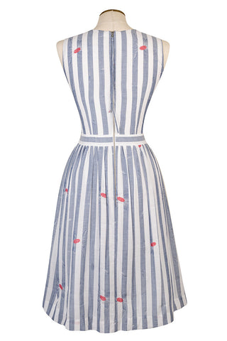 Caspian Stripe and Flower Dress