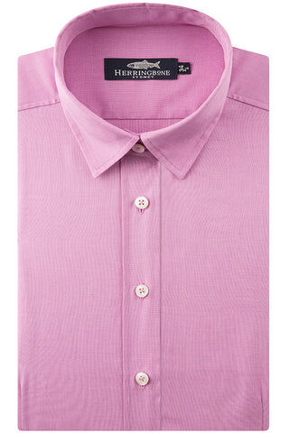 Magenta Fil on Fil Shirt