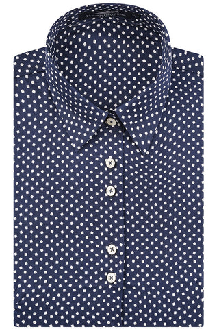 Navy Modernist Shirt