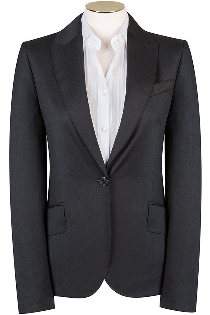 Black Twill Jacket