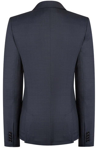 Navy Pindot Jacket