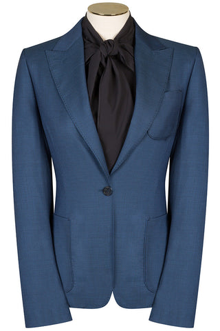 Cobalt Houndstooth Jacket