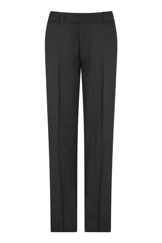 Charcoal End on End Trousers