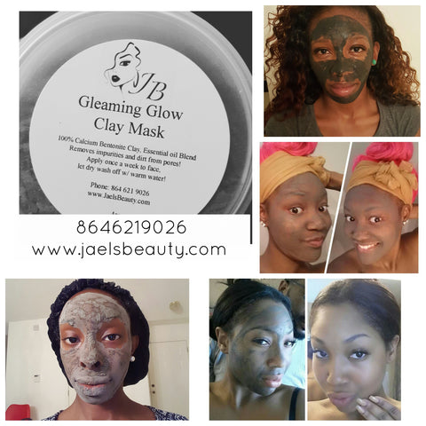 Gleaming Glow Clay Mask