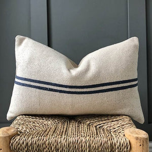 GRAIN SACK- blue lumbar