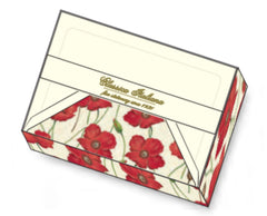 poppy note cards rossi1931 letterseals.com