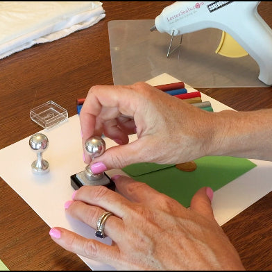 how to use sealing wax highlighting ink pad letterseals.com