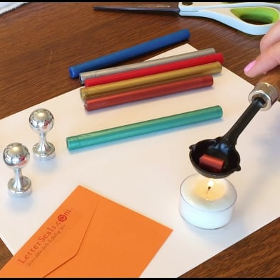 How to use bead sealing wax and sealing wax melting spoons