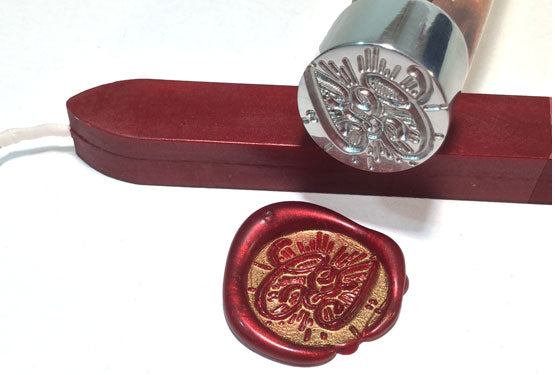 Custom wax seal stamps