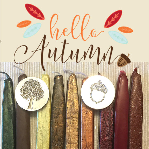 autumn sealing waxes letterseals.com