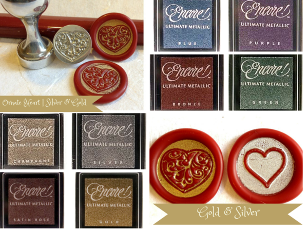 LetterSeals.com Wax Seal Stamp Highlighting Ink