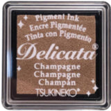 wax seal highlighting ink pad letterseals.com Tsukineko delicata champagne
