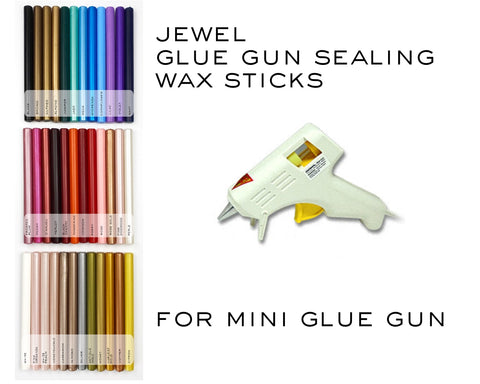 Jewel Glue Gun Sealing Wax | For Mini Glue Guns