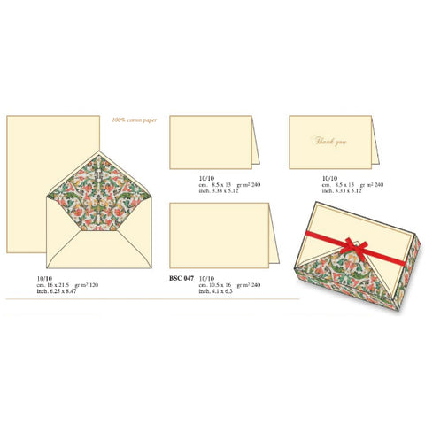 Traditional Florentine | Rossi 1931 Italian Stationery