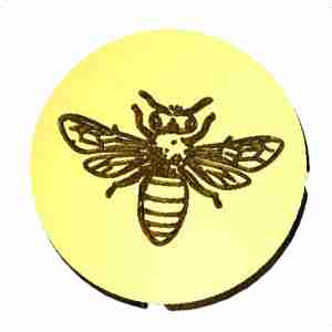 Bee #1 Wax Seal Stamp