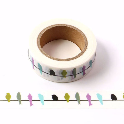 Birds on Wire Washi Tape