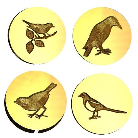 Bird Design Wax Seal Stamps - 37 Designs