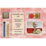"Classic 3/4"" Wax Seal Stamp Gift Set<br> Choose Your Favorite Design or Initial - LetterSeals.com - 11"