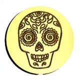 Candy Skull Wax Seal Stamp