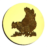 Chicken Hen Wax Seal Stamp LetterSeals.com