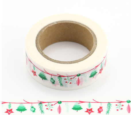 Christmas Garland Washi Tape