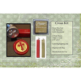 "Classic 3/4"" Wax Seal Stamp Gift Set<br> Choose Your Favorite Design or Initial - LetterSeals.com - 17"
