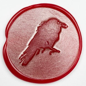 Crow / Raven Chick Wax Seal Stamp
