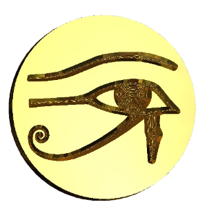 Eye of Horus Design Wax Seal Stamp