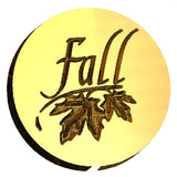 Fall Worded Design Wax Seal Stamp