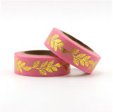 Gold Vines Washi Tape